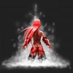 dessin rapide, guerriere hazylight3D