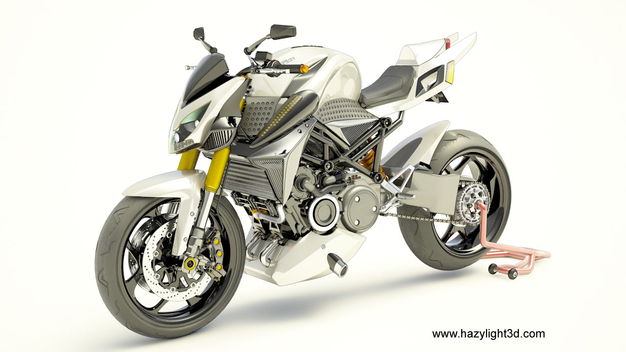 Design3D hazylight3D prototype moto